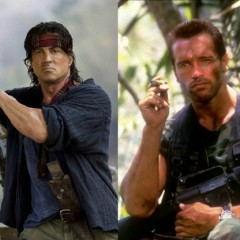 Movie showdown: Stallone vs. Schwarzenegger