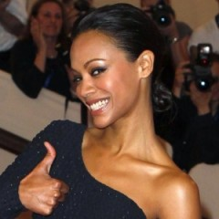 Zoe Saldana Shows Off Her Very Unique Engagement Ring