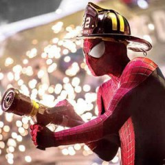 Spidey Joins The FDNY In New Look At 'Amazing Spider-Man 2'