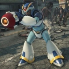 Unlock The 'Mega Man X' Costume & Blaster In 'Dead Rising 3'