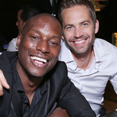Why Tyrese is Planning Paul Walker's Funeral