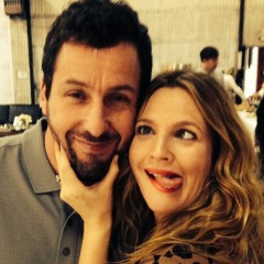 Drew Barrymore & Adam Sandler Reunite in Song