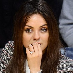 Mila Kunis' Engagement Ring Is Nothing to Be Ashamed Of