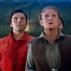 Carrie Fisher Slapped Oscar Isaac 27 Times Filming 'Last Jedi'