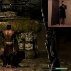 Kinect Hackers Give Skyrim Full Motion and Voice Control