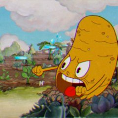 Why It's Hard To Beat The Easiest Level of 'Cuphead'