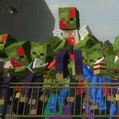 Zombies Invade MineCraft