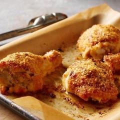 Roasted Garlic Oven-Baked Chicken