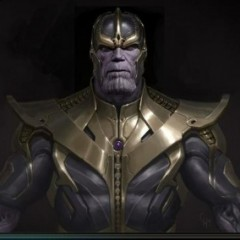 Movie Concept Art For Thanos
