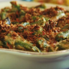 A Green Bean Casserole Unlike Any Other