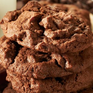 Chocolate Chocolate Chip Bacon Cookie Recipe