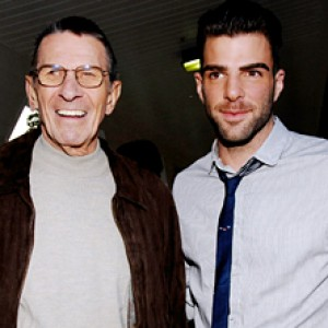 Zachary Quinto Reacts to Fellow Spock Leonard Nimoy's Death