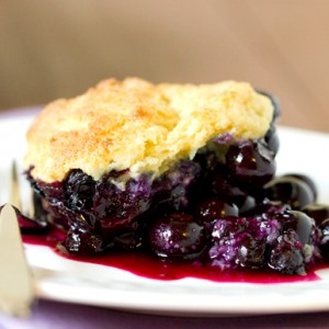 Mouth Watering Blueberry Cobbler