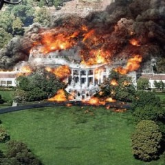 Controversial New Posters Show Burning White House