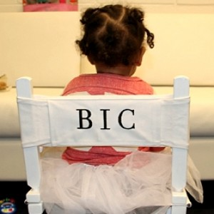 Blue Ivy Sits Like A Boss In Director's Chair