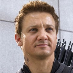 Jeremy Renner Is Bragging About His New 'Hawkeye' Suit