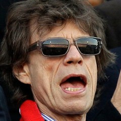 Mick Jagger Awkwardly Auctions Off Part Of His Body