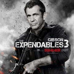 Mel Gibson Will Be Expendable