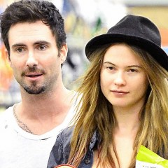 Behati Prinsloo Shows Off Her Engagement Ring