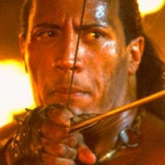 The Rock Shows Off 'Hercules' Set Video