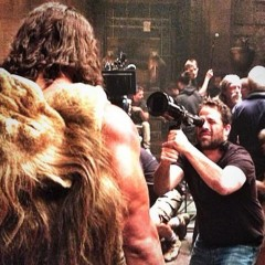 The Rock Tweets Another Photo From Hercules