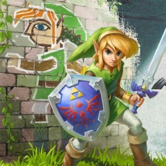 Jumping Between Worlds in The Legend of Zelda: A Link Between