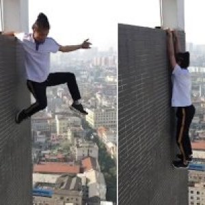 The Daredevil That Fell To His From A 62 Story Building